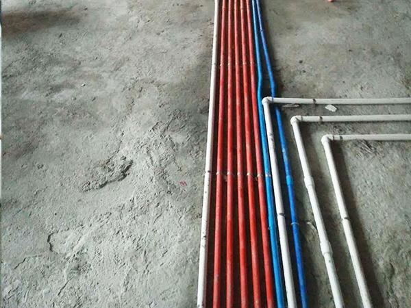 保利东湖林语在建工地之水电工程