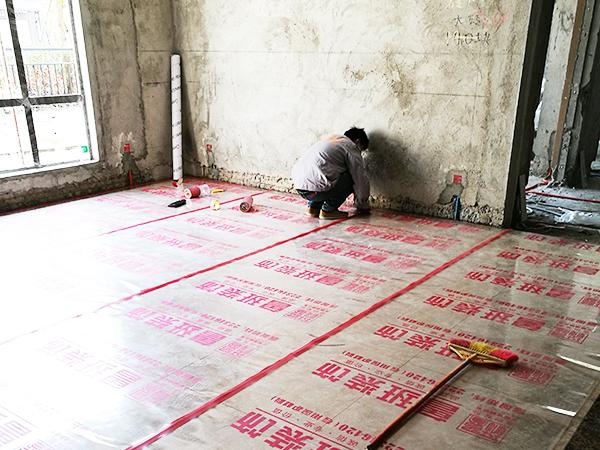 保利东湖林语在建工地之泥瓦阶段