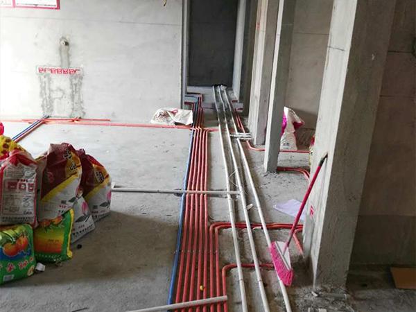 水悅龍灣在建工地之水電工程