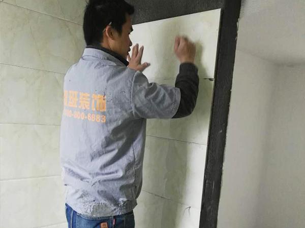 水悅龍灣在建工地之泥瓦階段
