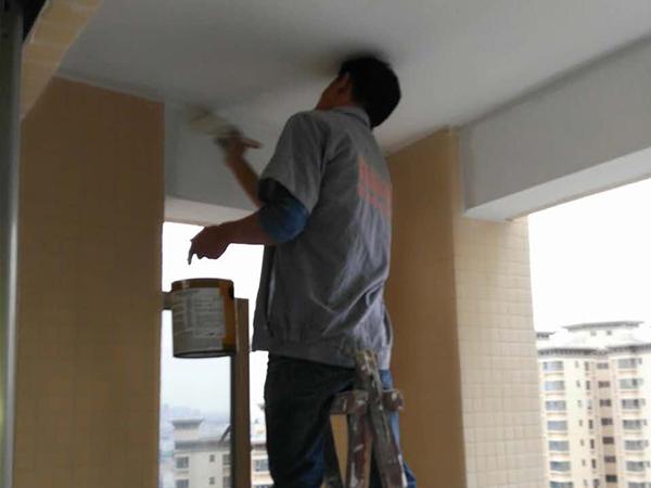 水悅龍灣在建工地之油漆階段