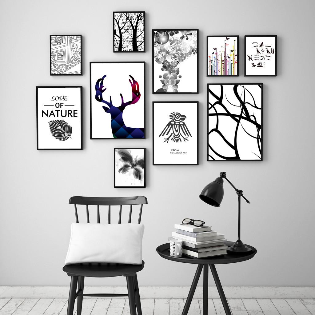 【软装贴士】东莞家居装修告诉您客厅挂画不单选对,还要挂对!图片