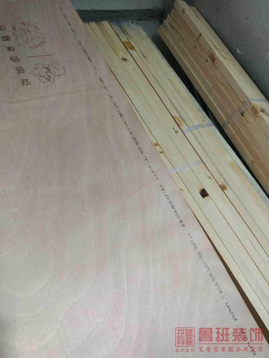麗日玫瑰在建工地之木工階段