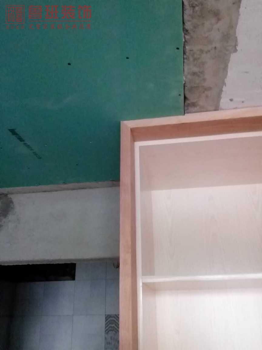 富丰君御在建工地之木工阶段