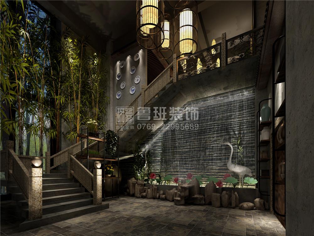 湘菜餐厅墙面手绘